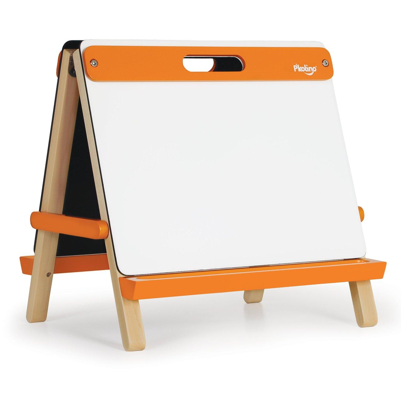 Table top drawing easel - Elegant Tabletop Easel Orange With Art Easel For Kids